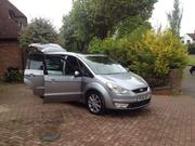 ford galaxy 2006 FORD GALAXY GHIA TDCI 6G SILVER TOP OF THE RA